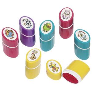 Stampila de plastic cu tematica animale domestice - Model aleator
