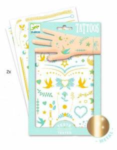 Tatuaje Djeco Bijuterii aurii