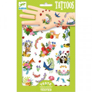 Tatuaje Djeco Flori de primavara
