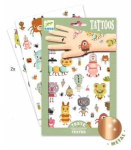Tatuaje metalice Djeco, Monstruleti