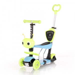 Trotineta pentru copii Smart Plus, Green