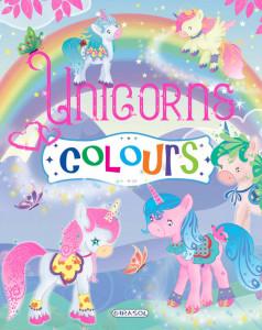 Unicorns colours - violet - Carte povesti pentru copii