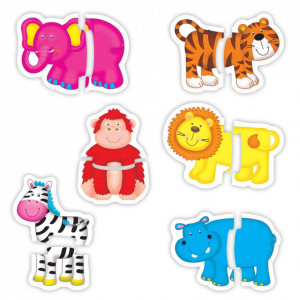 Baby Puzzle: Animale din jungla (2 piese)