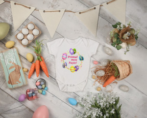 Body Bebe Personalizat My first Easter 3