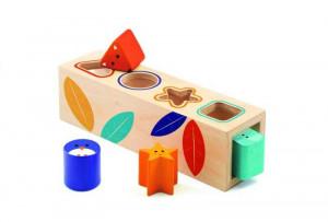 Boita Basic Djeco, cutia formelor