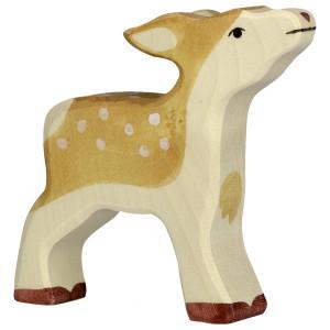 Caprioara - figurine din lemn de artar si fag