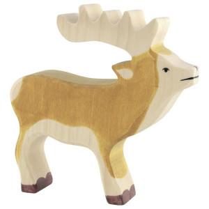 Cerb - figurine din lemn de artar si fag