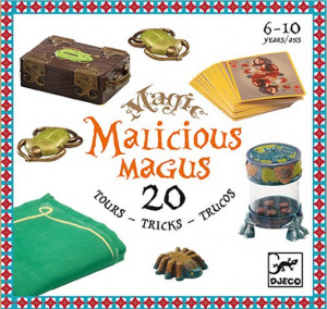 Colectia magica Djeco Malicious Magus, 20 de trucuri de magie