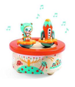 Cutie muzicala magnetica Spatiu Djeco