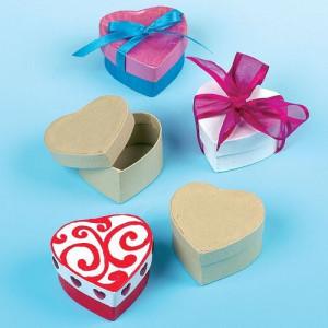 Cutiute din carton Inimioare - Baker Ross