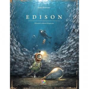 Edison. Misterul comorii disparute - Carte povesti pentru copii