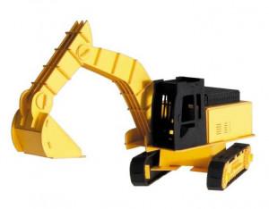Excavator, macheta 3D Fridolin