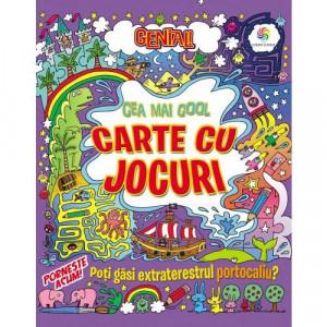 Genial! Cea mai cool carte cu jocuri
