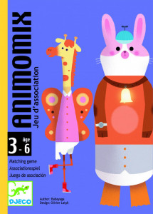 Joc de carti Djeco Animomix