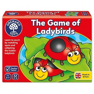 Joc educativ Buburuzele LADYBIRDS