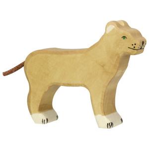 Leoaica - figurine din lemn de artar si fag