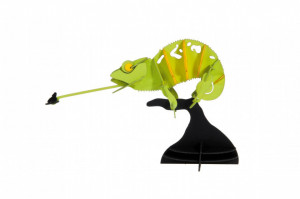 Macheta 3D Fridolin, Cameleon