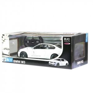 MASINA CU TELECOMANDA BMW M3 ALB CU SCARA 1 LA 14