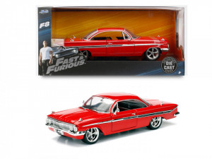 MASINUTA METALICA FAST AND FURIOUS 1961 CHEVY IMPALA SCARA 1 LA 24