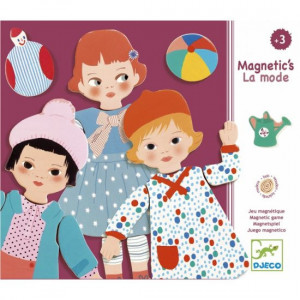 Moda magnetica, Joc magnetic Djeco