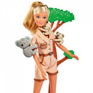 Papusa Simba Steffi Love Koala 29 cm cu figurine si accesorii