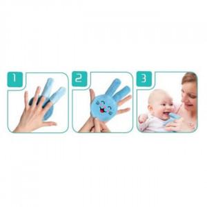Periuta de dinti pentru folosire pe deget BabyJem