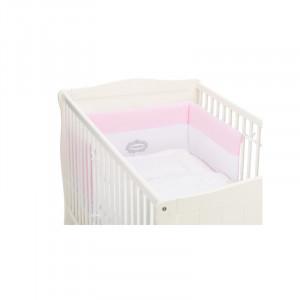 Protectie laterale pentru pat lemn Princess Pink Fillikid