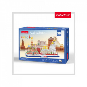 PUZZLE 3D MOSCOVA 204 PIESE