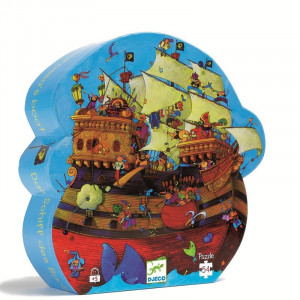 Puzzle Djeco Corabia Barbarossa