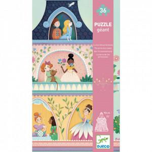 Puzzle gigant Djeco, Castelul printeselor
