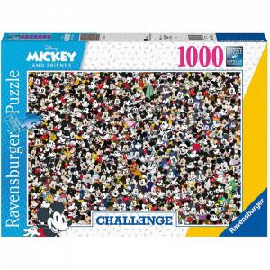 PUZZLE PROVOCARE MICKEY SI PRIETENII, 1000 PIESE