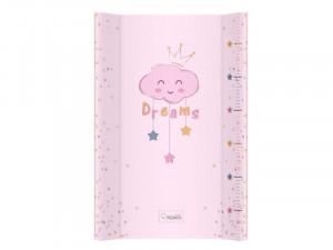 Saltea De Infasat Bebe Cu Intaritura 70x47,5 Klups Clouds Pink 407