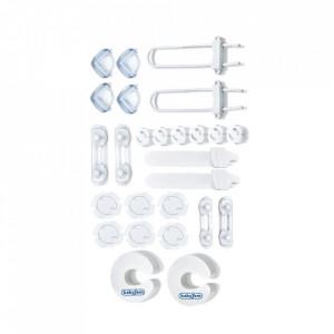 Set 26 protectii pentru mobilier BabyJem Home Safety Kit
