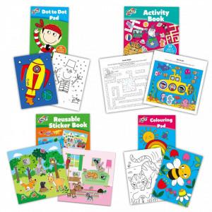 Set carticele cu activitati - Invat si ma distrez - Carte povesti pentru copii