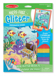 Set creatie cu sclipici In adancuri Melissa and Doug