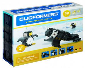 Set de construit Clicformers- Mini Animal Set 30 piese