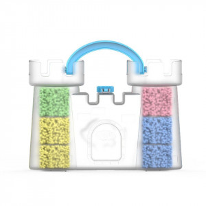 Spuma de modelat - Castelul de nisip