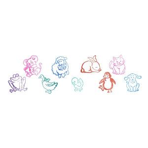 Stampila cu animale (1 buc) - Diverse modele