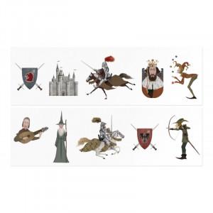 Tatuaje Londji, Cavaleri medievali