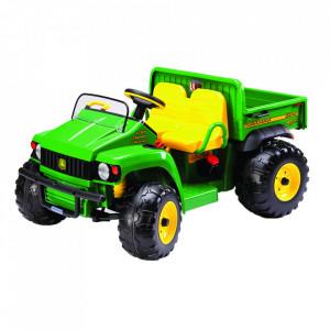 Tractor electric Peg Perego JD Gator HPX, 12V, 3 ani +, Verde