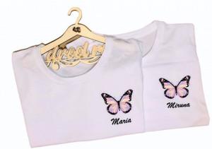Tricou printat Fluturas cu Nume