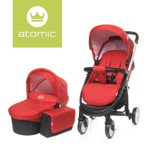 4Baby ATOMIC 2 in 1 Red
