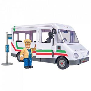 Autobuz Simba Fireman Sam Trevors Bus cu figurina