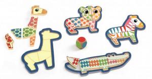 Bingonimo Djeco, puzzle din lemn