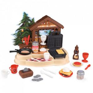 Bucatarie Smoby Gourmand Chalet cu accesorii