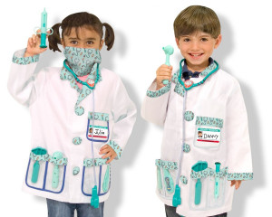 Costum carnaval copii Medic Melissa and Doug