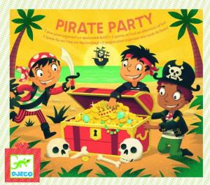 Joc de petrecere Djeco Pirate party- gaseste comoara