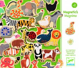 Joc magnetic cu animale Djeco