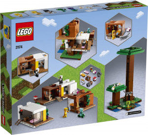 LEGO MINECRAFT CASUTA DIN COPAC 21174