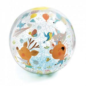 Minge usoara Djeco - Animalute in miscare, Bubbles ball